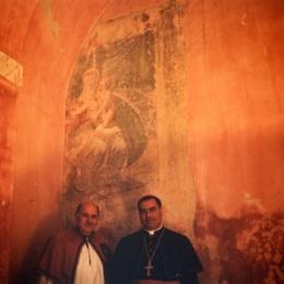Piglio. La più antica immagine di Giovanni della Croce nella chiesa di San Rocco Madonna della Valle.