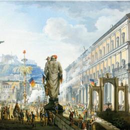 GUARDIAGRELE INVASA DAI FRANCESI : 25 FEBBRAIO 1799
