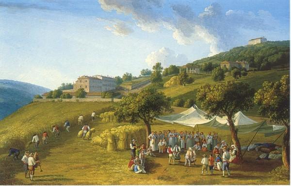 j-p-hackert-mietitura-a-san-leucio-1782-palazzo-reale-di-caserta-studiolo-di-ferdinando-iv-600x383