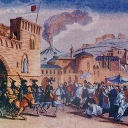 Lodovico Lodovici  ministro plenipotenziario dell'Armata Cristiana, 1799
