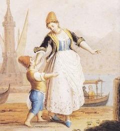 Tradizioni locali e cultura popolare nelle collezioni borboniche e lorenesi