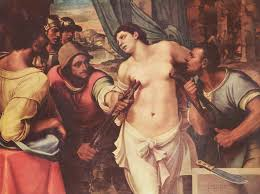 Capodimonte/Il seicento incontra il duemila: a confronto il martirio di Sant'Agata e la donna coltello