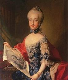 Maria Carolina, REGINA di Napoli nella numismatica