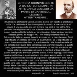 Chi era Garibaldi? Un criminale al soldo degli inglesi!