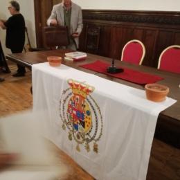 """Fernando Riccardi ringrazia le Monache del Monastero delle """"33"""" di Napoli"""