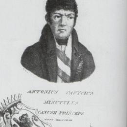 Antonio Capece Minutolo, principe di Canosa (1768-1838)