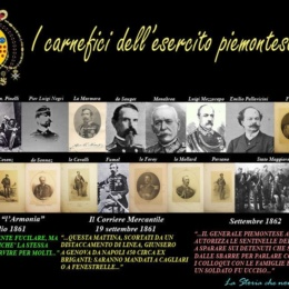 "Il GENOCIDIO DEI ""FRATELLI LIBERATORI"" PIEMONTESI"