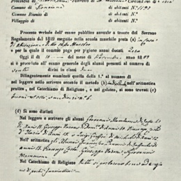 L'istruzione ai tempi del Regno delle Due Sicilie