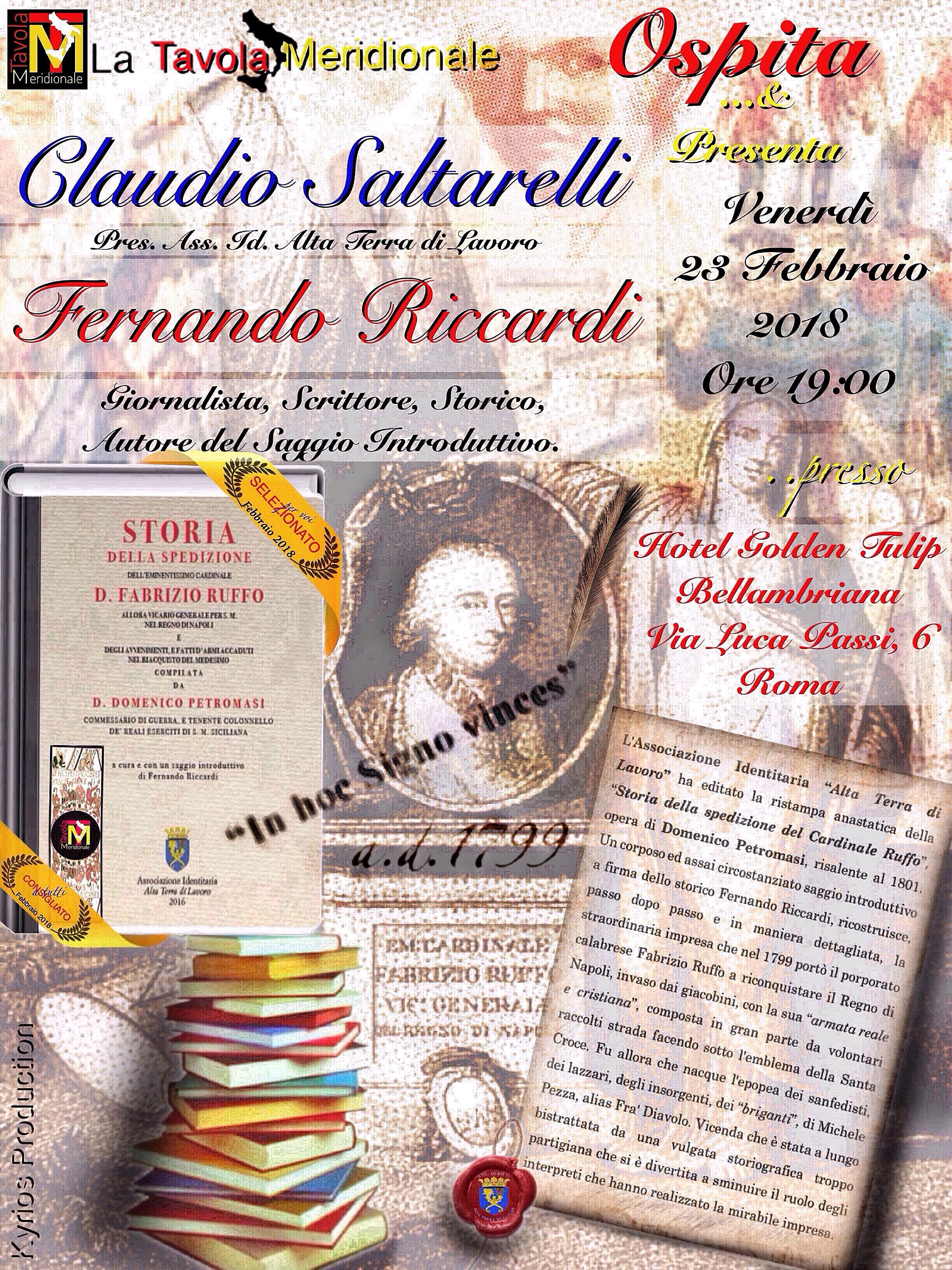 locandina-roma-23-febbraio-2018 ruffo