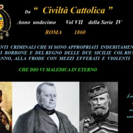 E l'ambasciatore piemontese disse: Noi non siamo con Garibaldi!!!