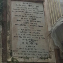 """Giovanni Paisiello, """"Iddio lo serbi a noi!"""""""