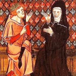 Francesco del Balzo, signore di Carinola, beffato dalla badessa di Teano
