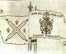 M. DI Sangro pag.15 parla del cardinale Ruffo che riconquista il regno a Ferdinando