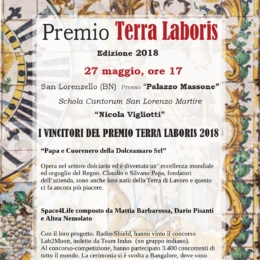 "ALDO VUCAI, ENRICO NAPOLITANO E GERI DE LUCA I ""DUCA"" DEL PREMIO TERRA LABORIS"