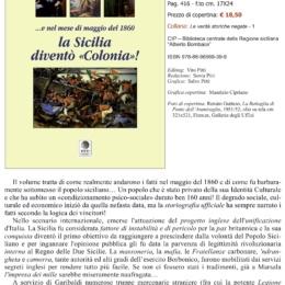 """NOVITA' EDITORIALE """"LA SICILIA DIVENTO' COLONIA"""" DI GIUSEPPE SCIANO'"""