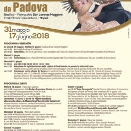 RITORNA LA TRAZIONALE FESTA DI SANT'ANTONIO DA PADOVA AL CENTRO STORICO DI NAPOLI