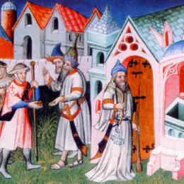 I pellegrinaggi medievali e la sosta di Foro Claudio