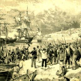 La battaglia di Calatafimi: i mille di Garibaldi hanno vinto grazie al tradimento del generale borbonico Landi