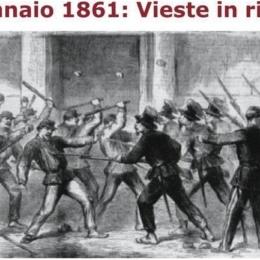 TERRORE A VIESTE ALL'ARRIVO DEL GENERALE PINELLI