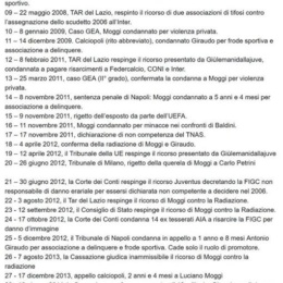 Processo doping alla Juventus le motivazioni della Cassazione