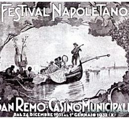 Il primo Festival di Sanremo si chiamava Festival Napoletano