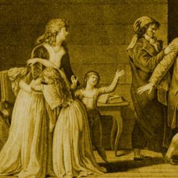 Il martirio della famiglia Reale di Francia