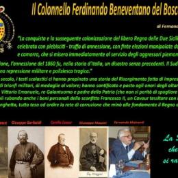 Il Colonnello FERDINANDO BENEVENTANO del BOSCO