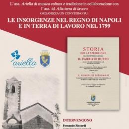 NEL 1799 CELLOLE CACCIO' I GIACOBINI PERCHE' SANFEDISTA E REALE