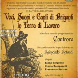 """""""Voci, Suoni, e Canti dei Briganti in Terra di Lavoro"""" a Gallo di Roccamonfina, il video dello spettacolo"""