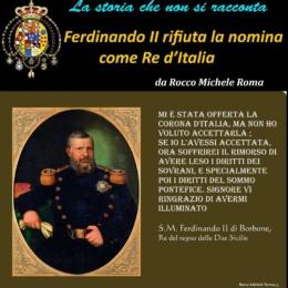 S.M. Ferdinando II, Re delle Due Sicilie