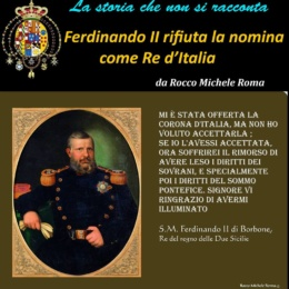 "FERDINANDO II Un re definito da Acton ""filonapoletano"""