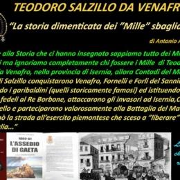 """Teodoro Salzillo da Venafro:   la storia dimenticata dei """"Mille"""" sbagliati."""