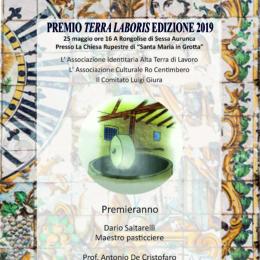 PREMIO TERRA LABORIS 2019 CON GLI OCCHI DI AMATO DI CHIARA