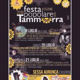 """FESTA POPOLARE DELLA TAMMORRA PRIMA DI SESSA PRIMA CLASSIFICATA """"ITALIVE"""""""