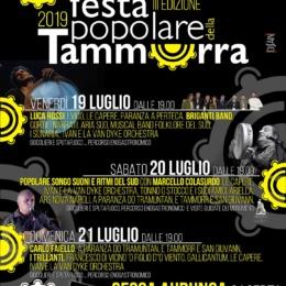 FESTA POPOLARE DELLA TAMMORRA 2019 AL DUCATO DI SESSA