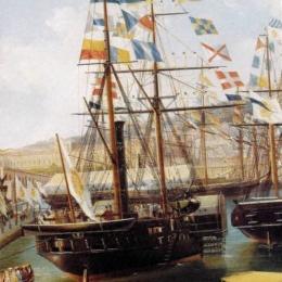 La grande marina mercantile e militare napoletana