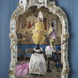 Napoli, Napoli di lava, di porcellana e di musica al Museo di Capodimonte, foto scattate da un semplice telefono