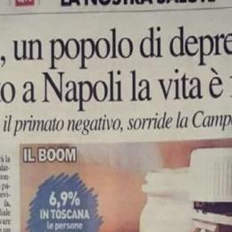 Soltanto a Napoli la vita è felicità: lo dice una ricerca sull'uso degli psicofarmaci
