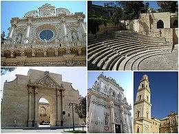 Porta Napoli in onore dell'Imperatore Carlo V, la porta che collegava Lecce con Napoli nel 1548
