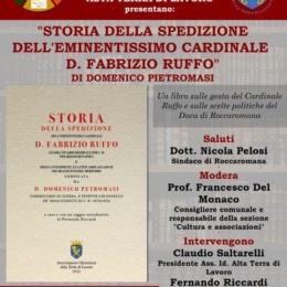 LUCIO CARACCIOLO DUCA DI ROCCAROMANA ACCOGLIE IL CARDINALE F.RUFFO
