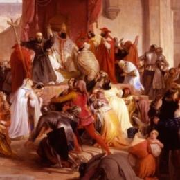 Discorso di papa Urbano II con cui venne indetta la Crociata