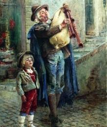 'O VIECCHIO ZAMPUGNARO:poesia bellissima di Rocco Galdieri