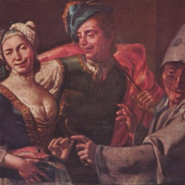 Il Pulcinella Da Quacquero di A. Jerocades