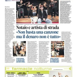 MASSIMO FELICE ABBATE NOTAIO ARTISTA DI STRADA
