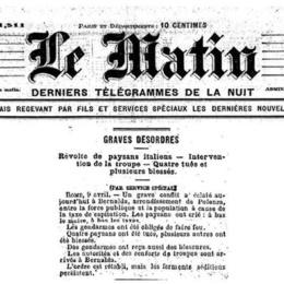8 aprile 1888, la strage di Bernalda