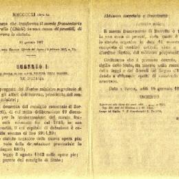 I Monti Frumentari nel Regno delle due Sicilie