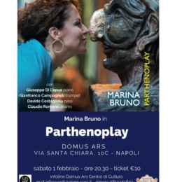 "Marina Bruno Presenta ""PARTHENOPLAY"""