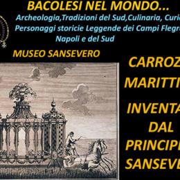 CARROZZA MARITTIMA D'INVENZIONE DEL PRINCIPE DI SANSEVERO