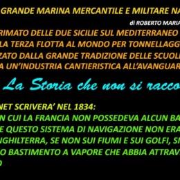 La grande marina mercantile e militare napoletana.