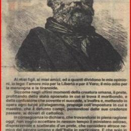 Le bestemmie di Garibaldi